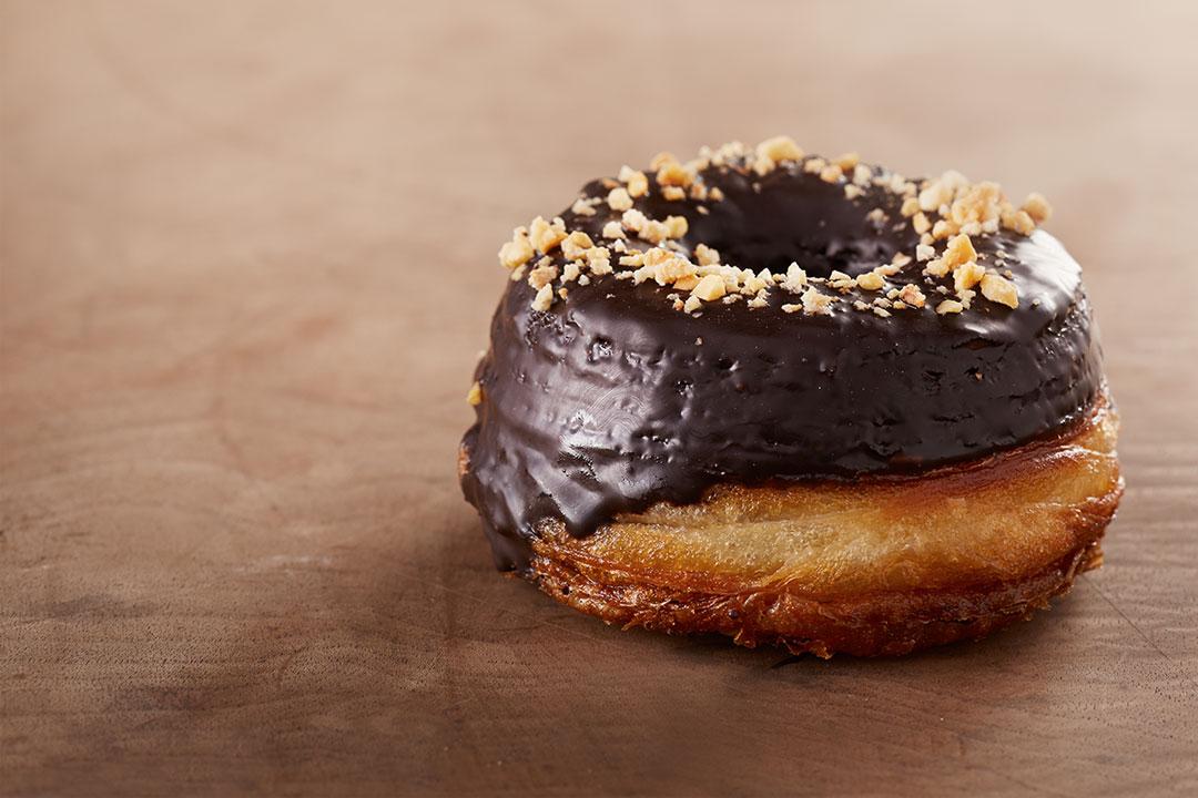 Cronut (Híbrido de Donut y Croissant)