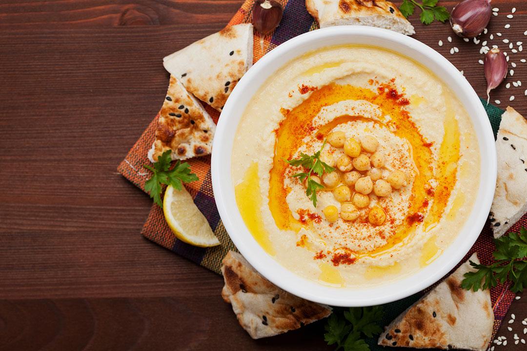 Hummus de Garbanzos y Habichuelas Blancas