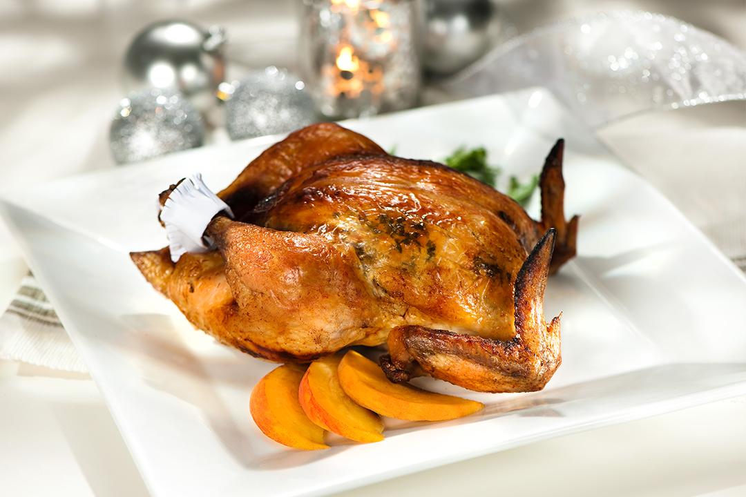 Pollo asado con maple
