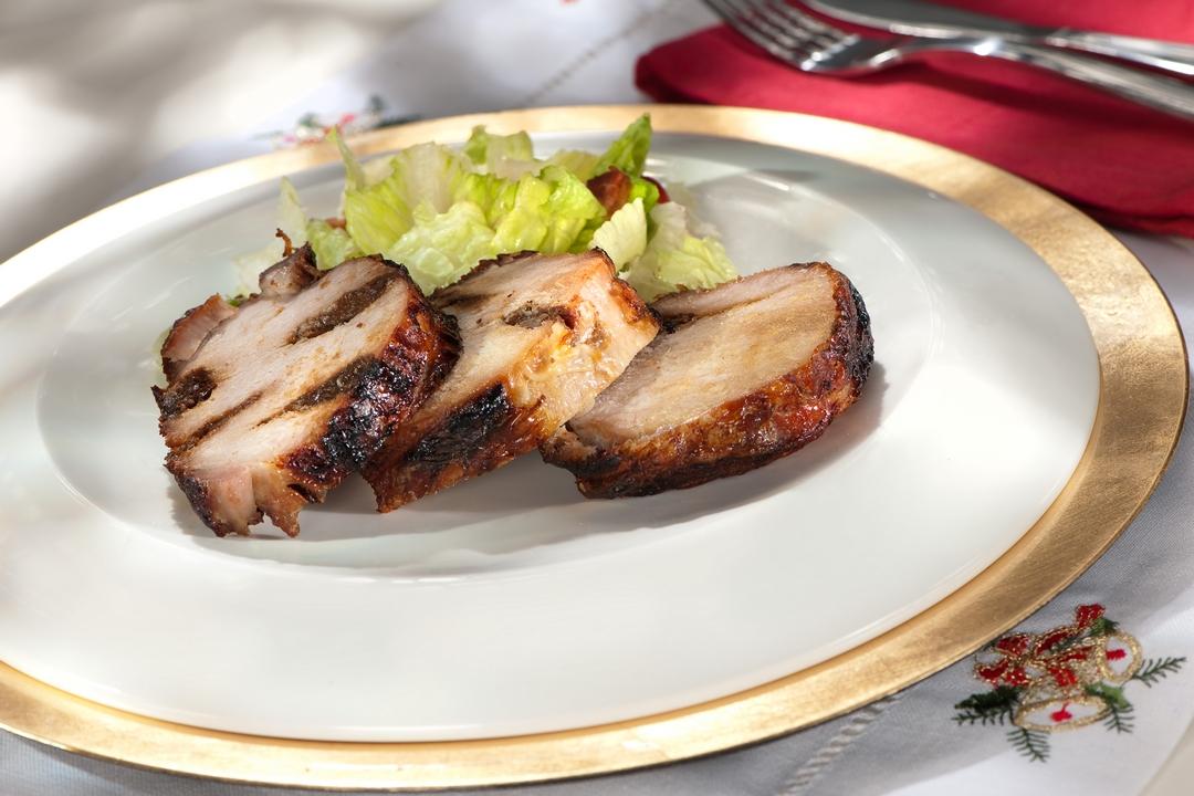 Lomo de cerdo con ciruelas