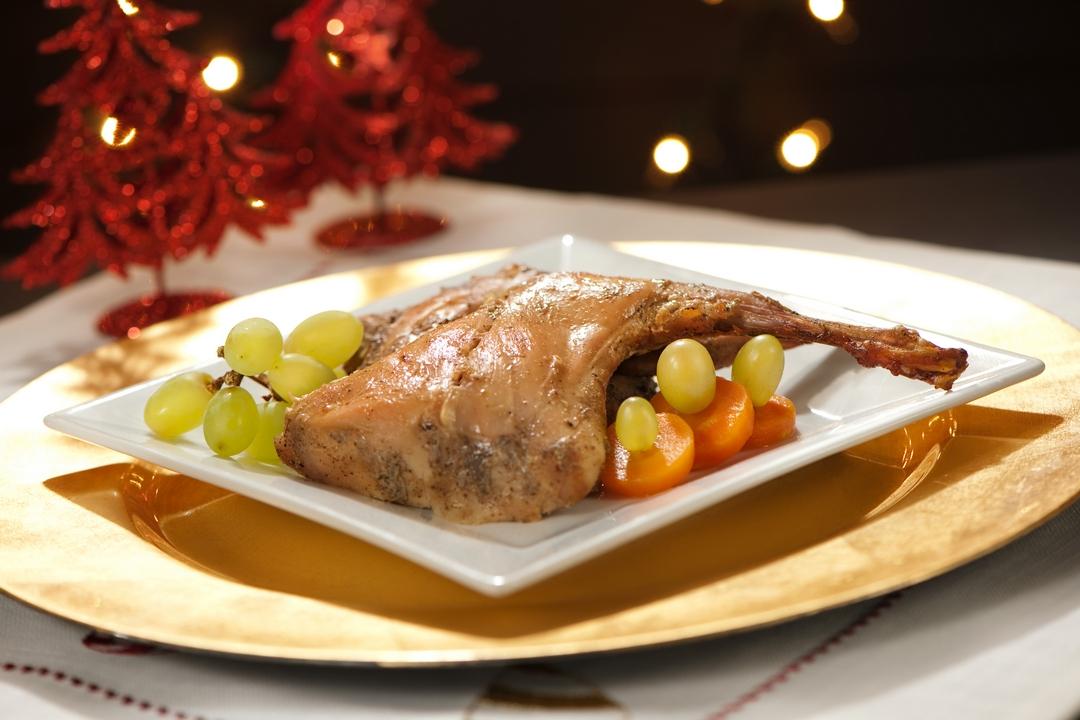 Conejo de Navidad