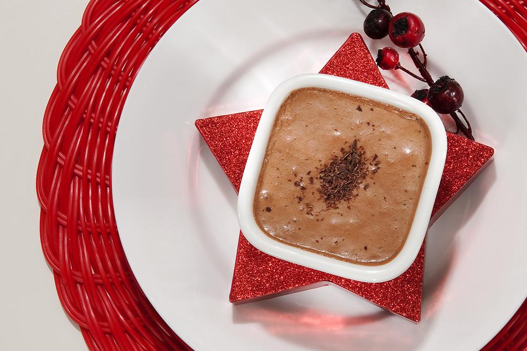Chocolate al ron