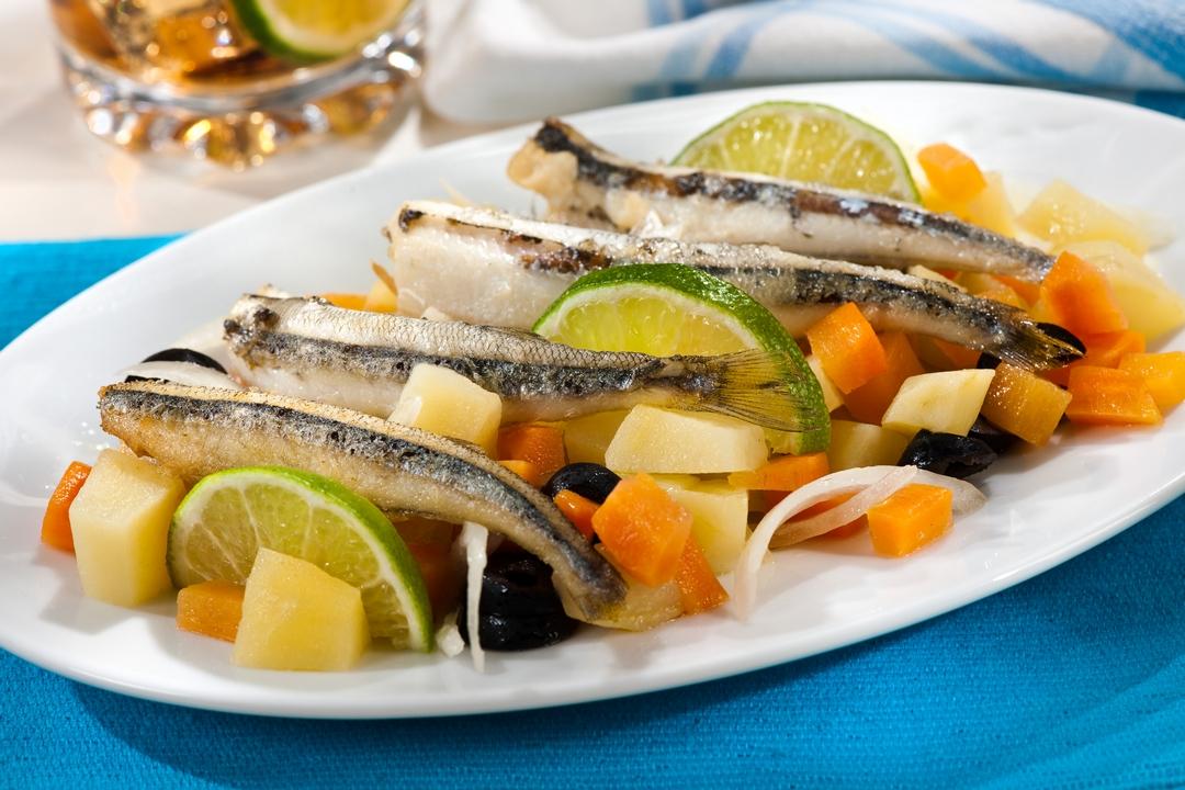 Ensalada de sardinas