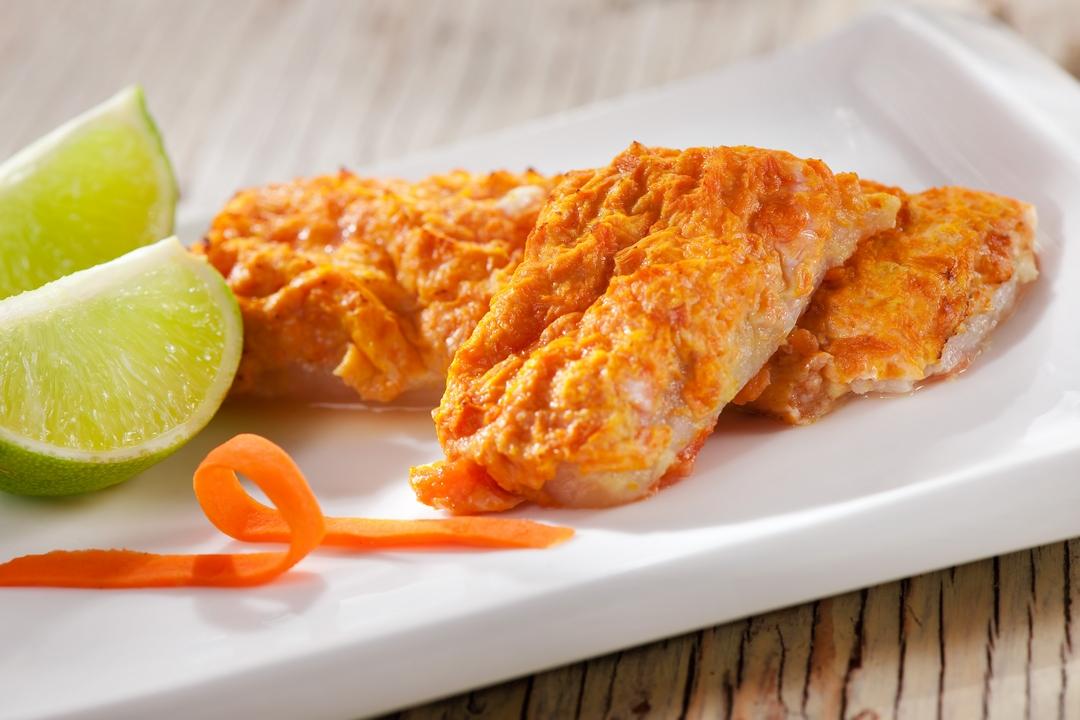 Pescado con zanahoria y limón