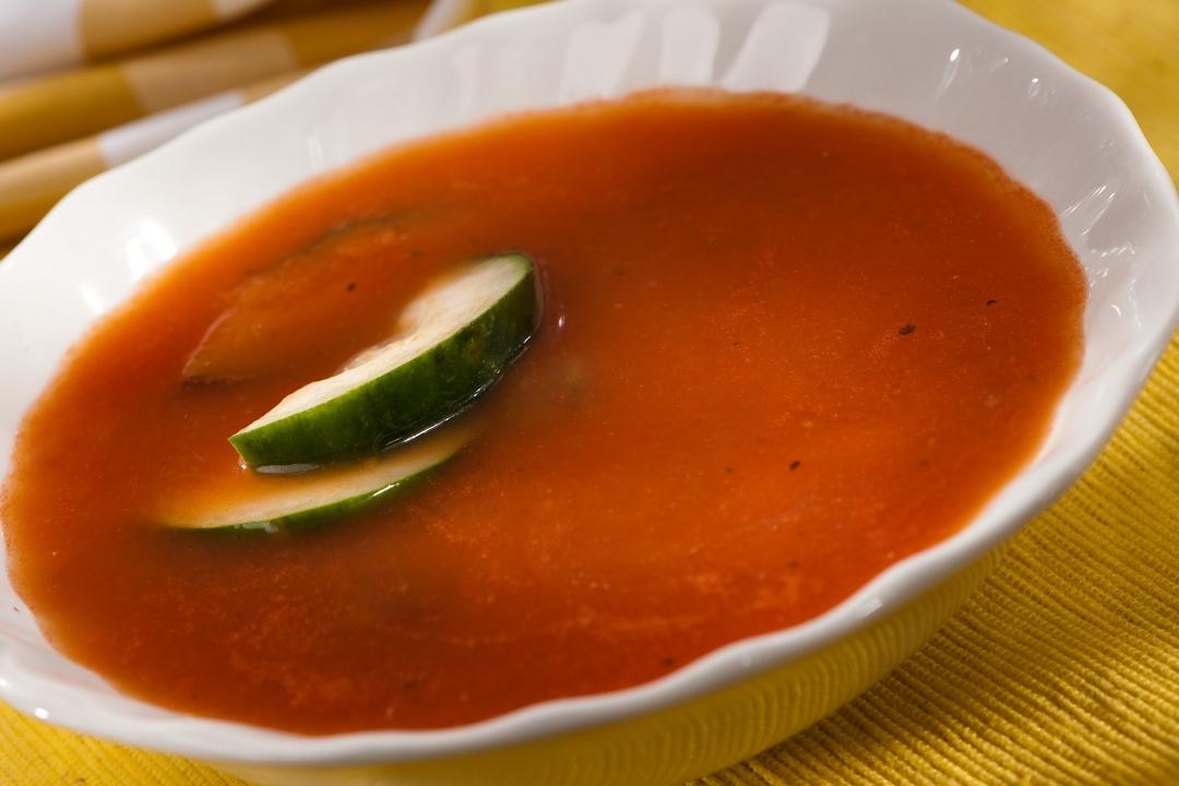 Sopa de soya y verduras