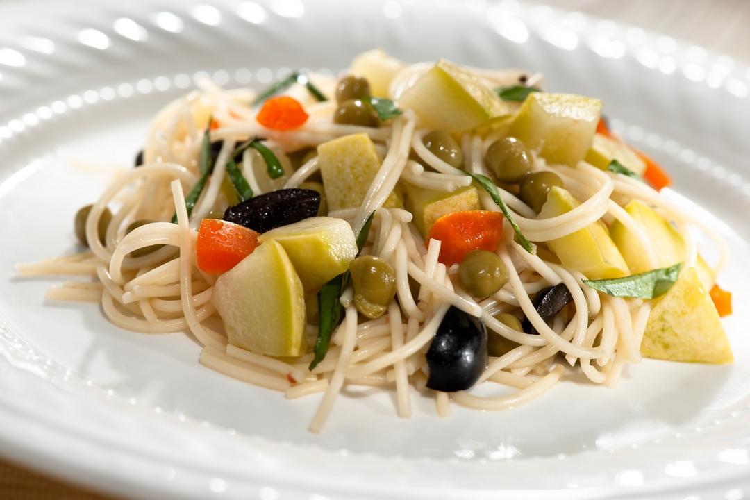 Ensalada de spaghetti
