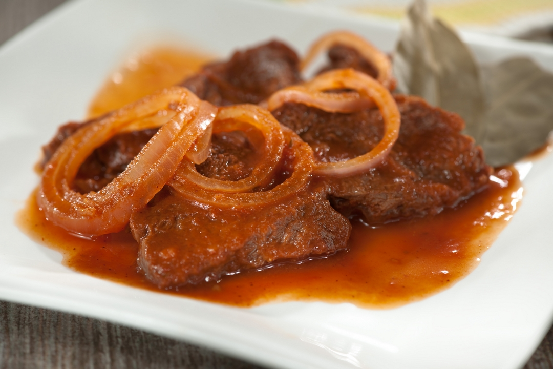 Bistec a la salsa