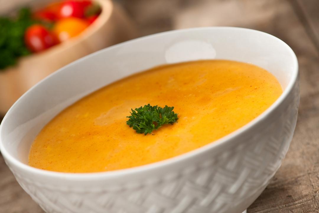 Crema de queso y tomate