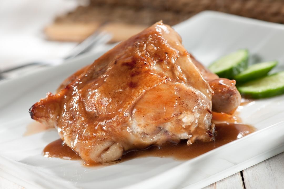 Pollo a la soya