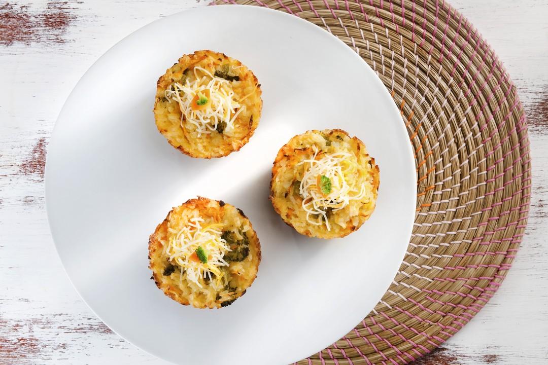 Cupcakes de arroz