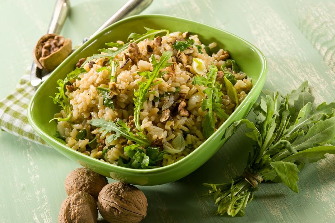 arroz con nueces y dátiles
