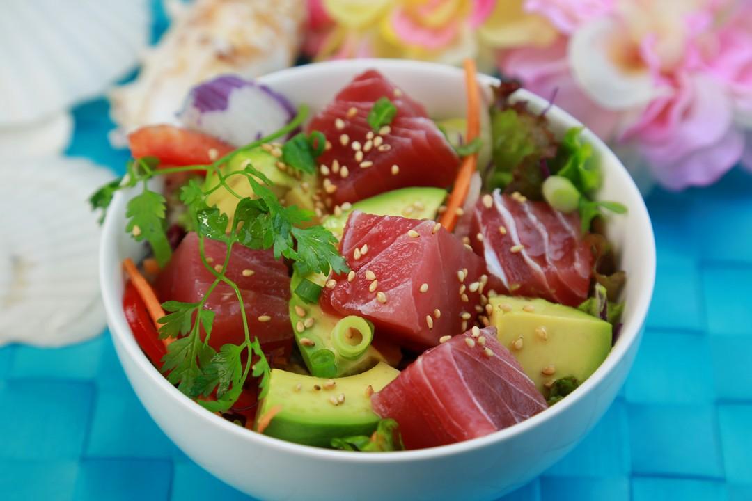 Ceviche de atún Nikkei