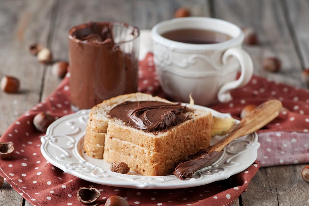 Tostadas francesas con Nutella