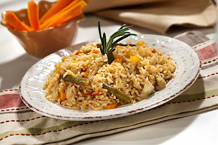 Recetas super pola - Arroz con verduras light ...